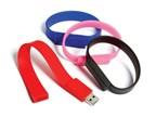 Wristband USB FlashDrive Geel