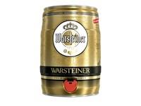 warsteiner 5 l. bierfust