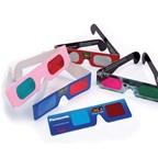 Kartonnen 3D brillen