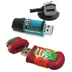 Custom made soft PVC usb sticks