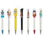 Pen met eigen clip