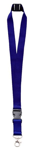 Lanyard 2 cm breedte inclusief quickclip, neck saf