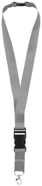 Lanyard 2,5 cm breedte inclusief quickclip, neck s