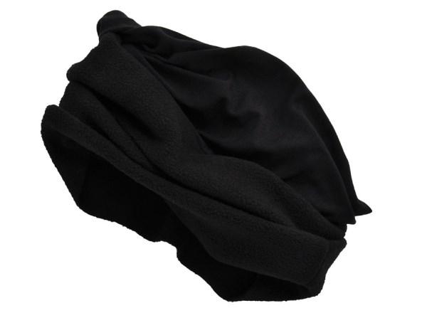 111782937387 - Tour de cou outdoor multiactivités noir, hiver