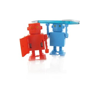 2-port hub in a plastic robot design Available in