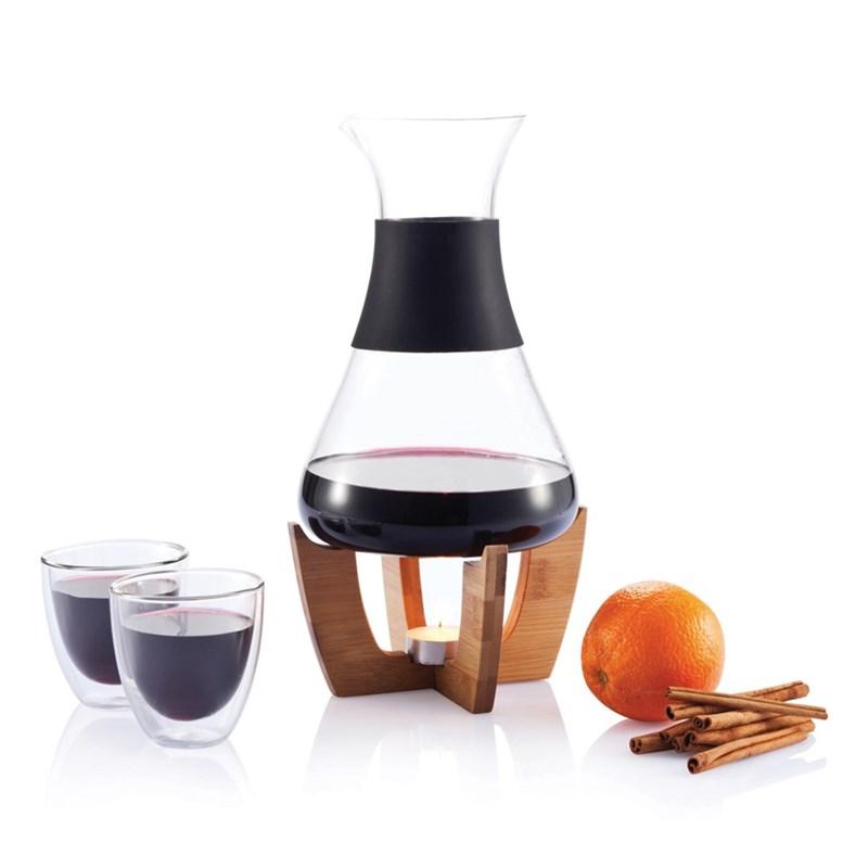 111825278323 - Set pour vin chaud avec verres Glu
