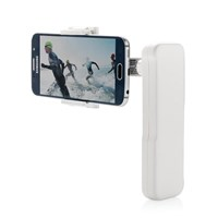 Mobiele telefoon stabilisator, wit