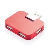 USB 20 hub, rood