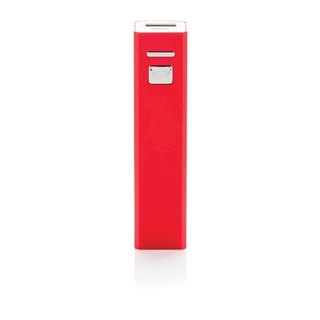 2200 mAh powerbank, rood
