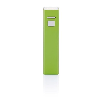2200 mAh powerbank, groen