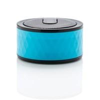 Geometric draadloze speaker, blauw