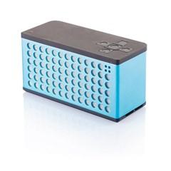 Sound bass speaker groot, blauwwit