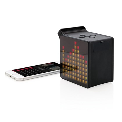 5W draadloze speaker met app, zwart