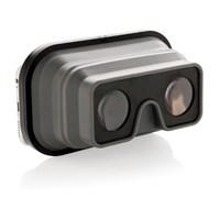 Opvouwbare siliconen VR-bril, zwart