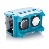 VR-bril, blauw