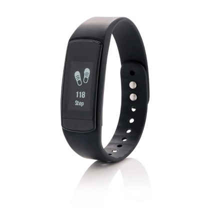 Activity tracker met touchscreen en dynamische har