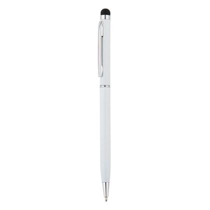 Aluminium touchscreen pen, wit