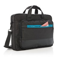 Elite 15,6 USB laptop tas