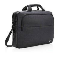 Swiss Peak modern 15 laptop tas, zwart