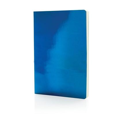 A5 Deluxe metallic notitieboek, zwart