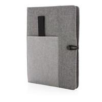 Kyoto omslag voor A5 notitieboek, grijs