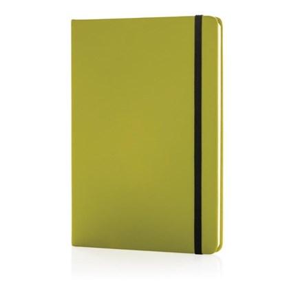A5 basic hardcover PU notitieboek, roze