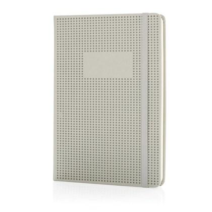 A5 deluxe geperforeerd hardcover PU notitieboek, z