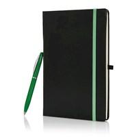 Notitieboek giftset, zwart