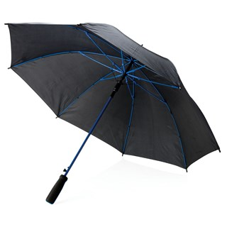 23 fiberglas gekleurde paraplu, blauw