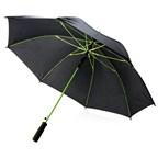 "23"" fiberglas gekleurde paraplu, limegroen"
