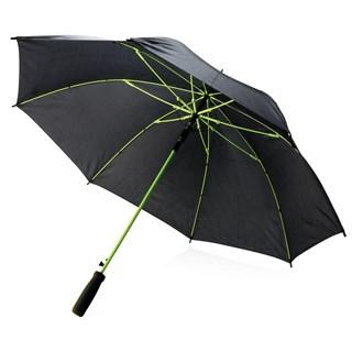 23 fiberglas gekleurde paraplu, limegroen