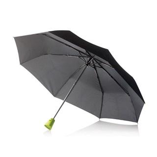 21,5 Brolly 2 in 1 auto opensluit paraplu, groen