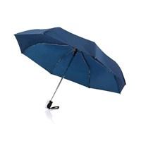 Deluxe 21,5 2-in-1 automatische paraplu, blauw
