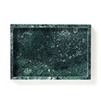 Decoratiedienblad Marble, groen