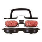 Steakmessenset Aveyron, zwart