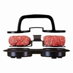 Hamburger Press Mini, zwart