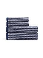 Ascot Handdoekenset, blauw