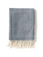 Deken Herringbone, blauw