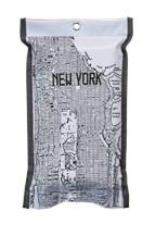 Blusdeken New York, new york grijs