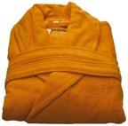 Beaulise Premium Badjas Kleur oranje LXL