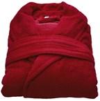 Beaulise Premium Badjas Kleur rood SM