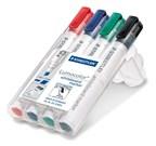 STAEDTLER doos met 4 Lumocolor whiteboard markers