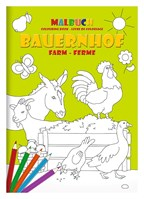 Kleurboek set DIN A4 Boerderij