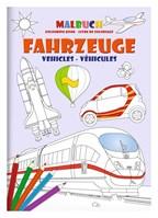 Kleurboek set DIN A4 Voertuigen