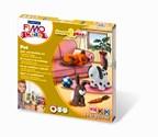 STAEDTLER FIMO kids klei set form&play, huisdieren