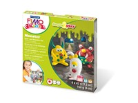 "STAEDTLER FIMO kids klei set ""form&play"", monster"