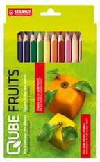 Set van 12 kleurpotloden STABILO GREENtrio