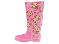 rubber boots Blumen