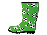rubber boots Fussball