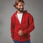 AMSTERDAM AMSTERDAM Hooded sweatshirt voor mannen met volledige rits